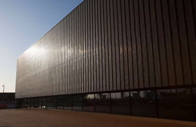 Олимпийский гандбольный стадион Copper Box © Justin Setterfield. Image courtesy of LOCOG / Getty