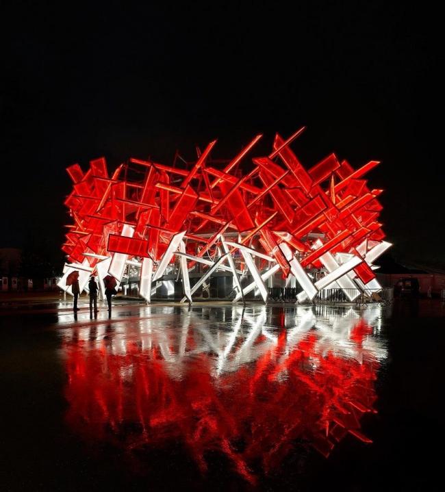 Павильон Coca-Cola Beat Box. Архитекторы Асиф Кхан и Пернилла Орстедт © Hufton + Crow