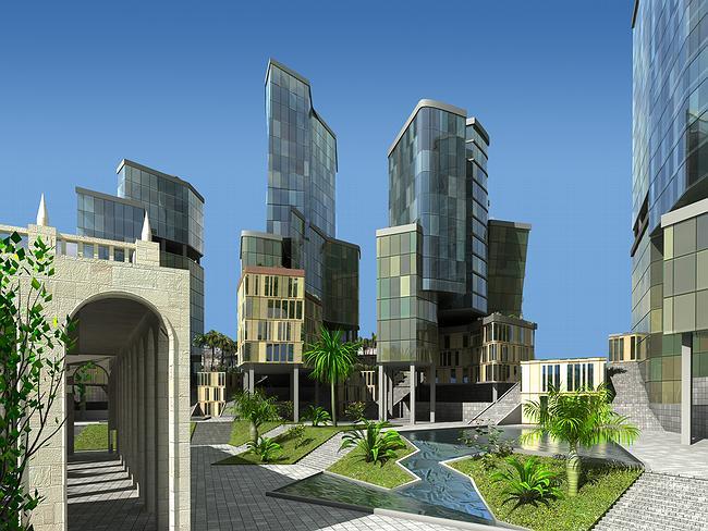 Элитный жилой комплекс в Ялте © ПТАМ Виссарионова