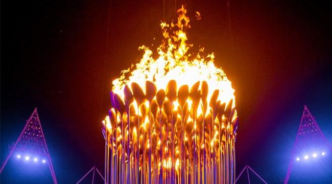 Чаша Олимпийского огня Игр-2012 в Лондоне. Фото © LOCOG