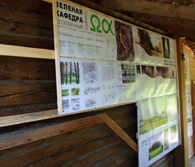 Презентация проекта «Зеленая кафедра» в доме Василия Щетинина.