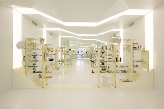 Магазин Alessi - реконструкция © Frederica Carlet