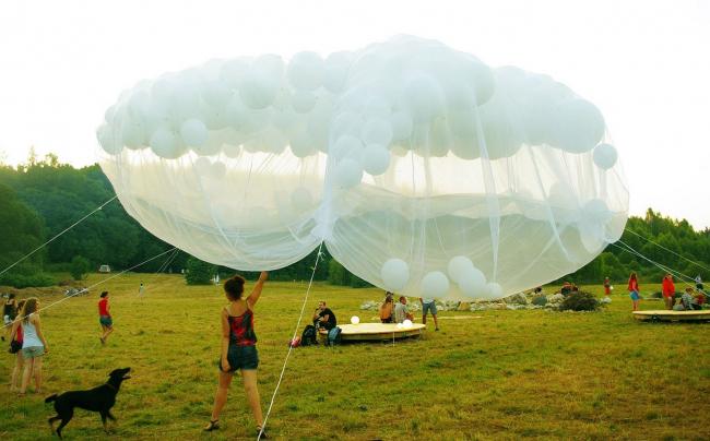 «Облака» на «Акустической поляне».