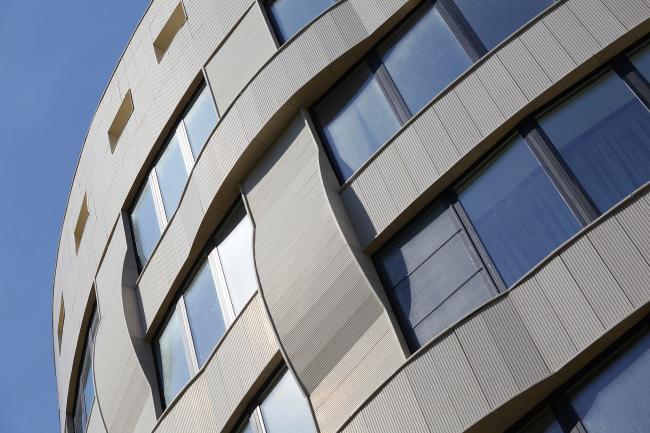 Клубный квартал «Грюнвальд». Дом «Вальс». Постройка, 2011 © SPEECH, АБ «Остоженка», Проект Меганом