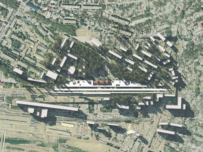 Генплан. Вокзальный комплекс в г. Туапсе