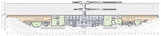 План на отметке -3.370. Вокзальный комплекс в г. Туапсе