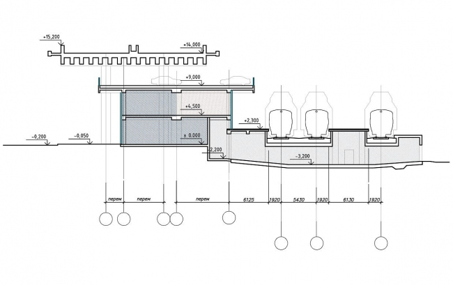 Вокзальный комплекс в пос. Хоста © Архитектурное бюро «Студия 44»
