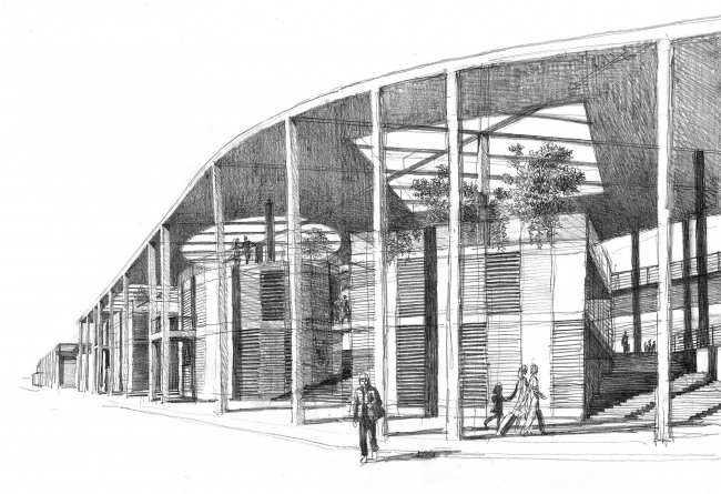 Вокзальный комплекс в г. Туапсе