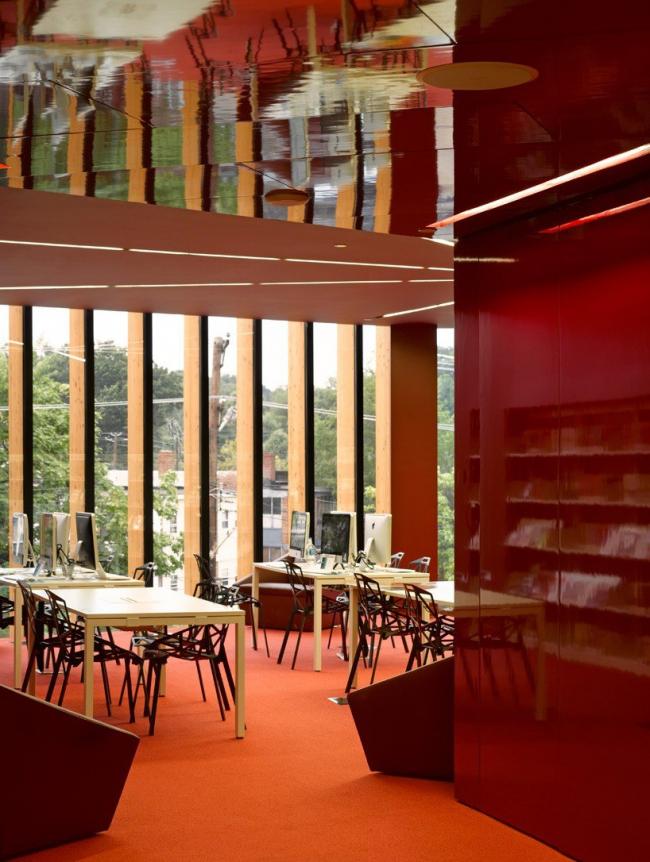 Библиотека Bellevue © Edmund Sumner