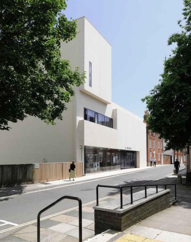 Novium - окружной музей Чичестера © Keith Williams Architects