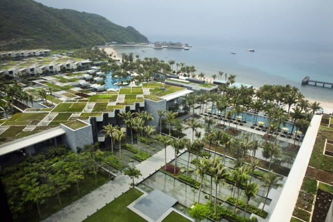 Отель Intercontinental Sanya Resort © Patrick Bingham-Hall
