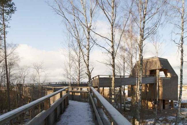 Посетительский центр заповедника Токерн © Åke E:son Lindman