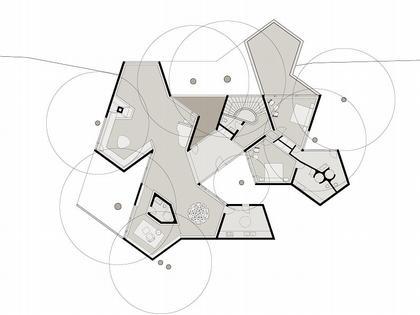 Древесный дом. План второго уровня