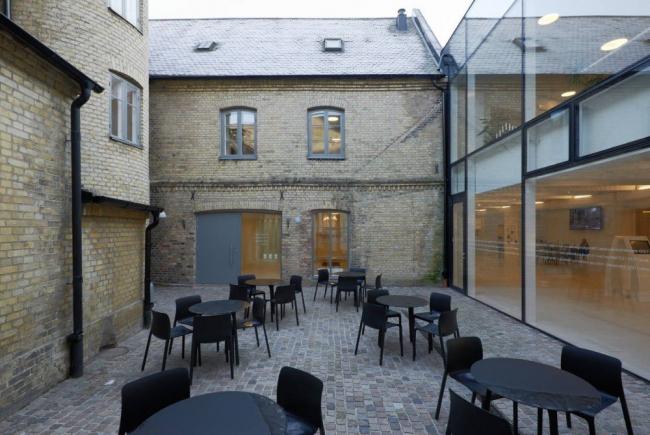 Общественный центр Кафедрального собора Лунда © Åke E:son Lindman