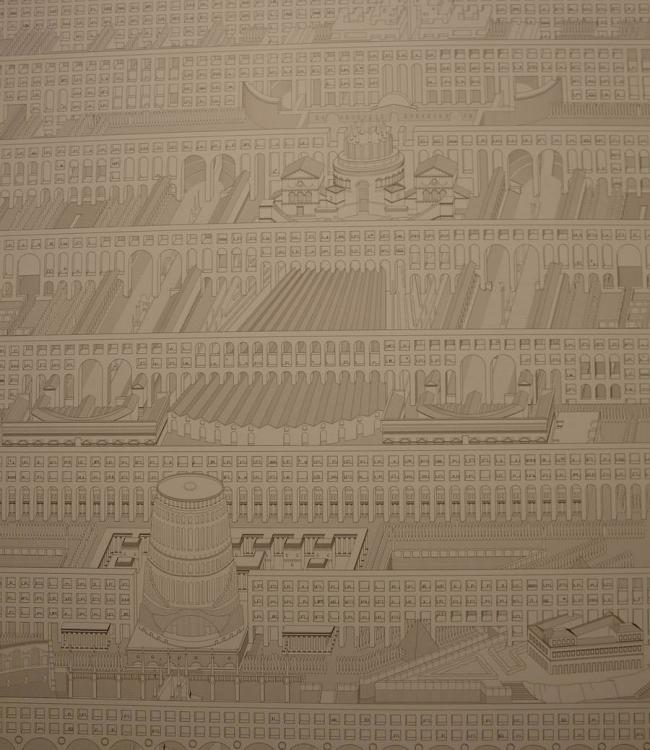 «Проект Кампо Марцио». «Поле стен» бюро Dogma