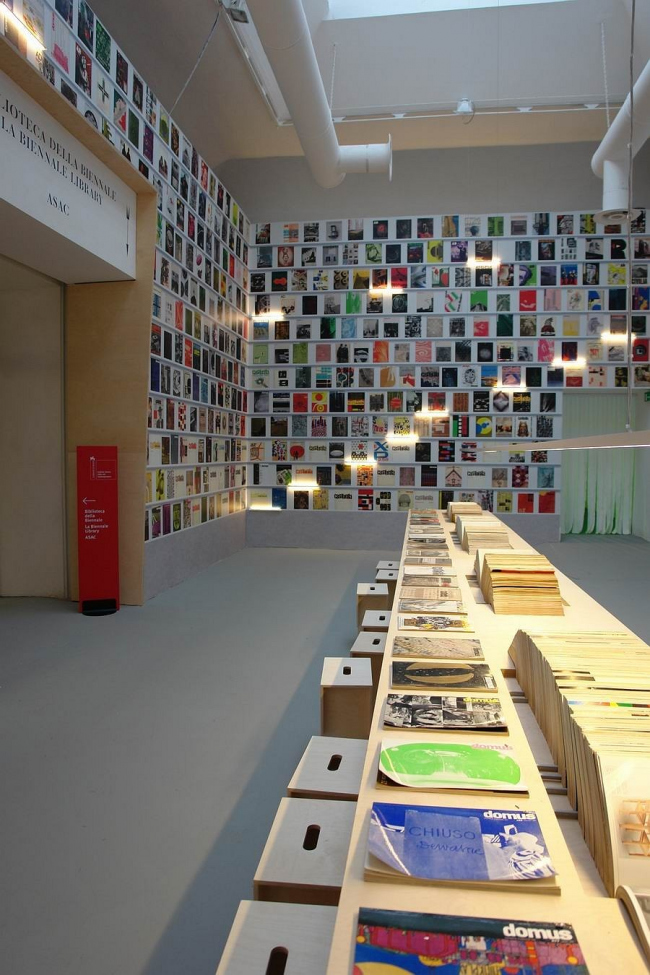 Экспозиция об архитектурных журналах