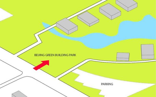 Посетительский центр Парка зеленых инноваций в Пекине © JDS architects