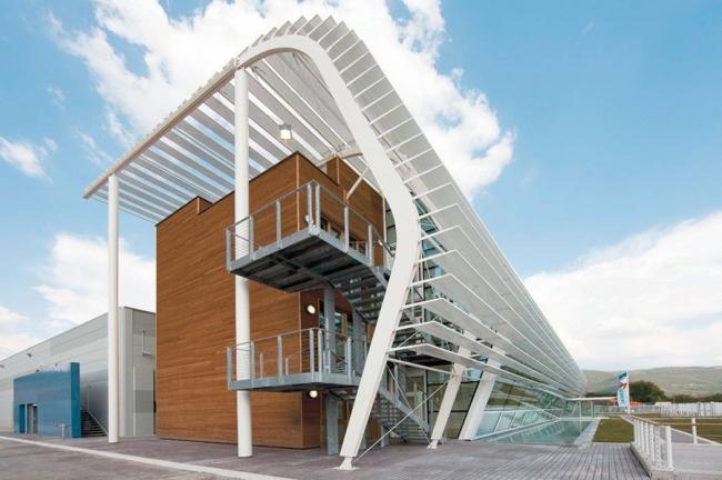 Административный корпус Archimede Solar Energy в Масса Мартана, Перуджа. Maryfil Architecture, 2011. Фото предоставлено Biennale di Venezia