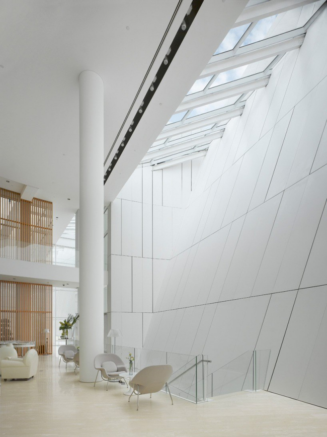 Клуб OCT © Richard Meier Architects