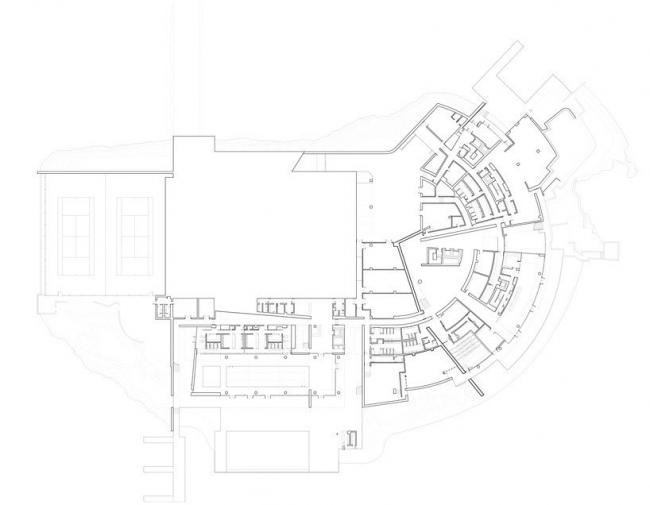 Клуб OCT © Richard Meier Architects