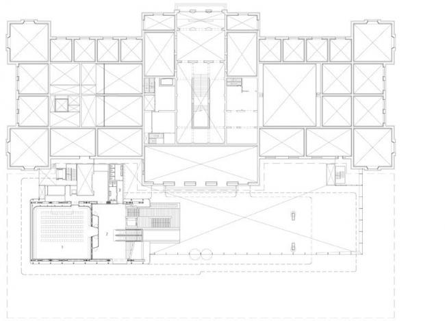 Музей Стеделейк - новое крыло © Benthem Crouwel Architects