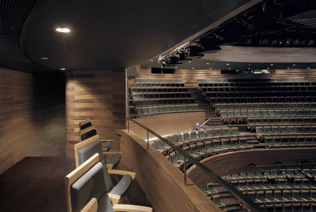 Большой театр в Уси © Jussi Tiainen