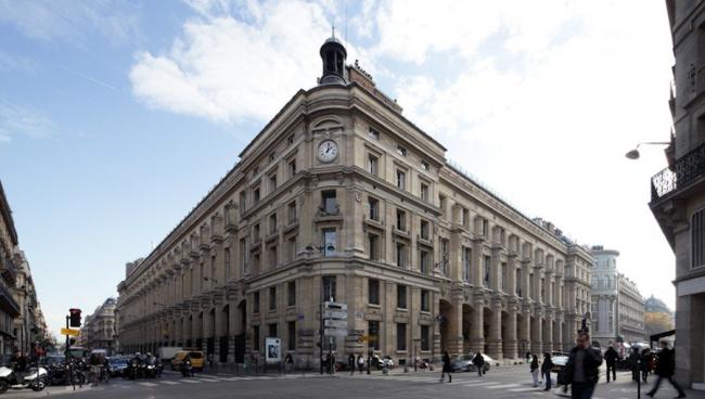 Центральное почтовое отделение Франции. Вид до реконструкции © Fougeirol Havas Prod