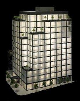 Urban Glass House. Проект