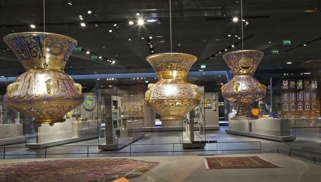 Крыло исламского искусства Лувра © Musée du Louvre / Philippe Ruault