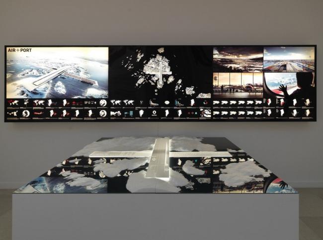 «Возможная Гренландия». Проект AIR+PORT (аэропорт в порту Нуука). Бюро Tegnestuen Nuuk и BIG. Фото Camera Photo Venezia
