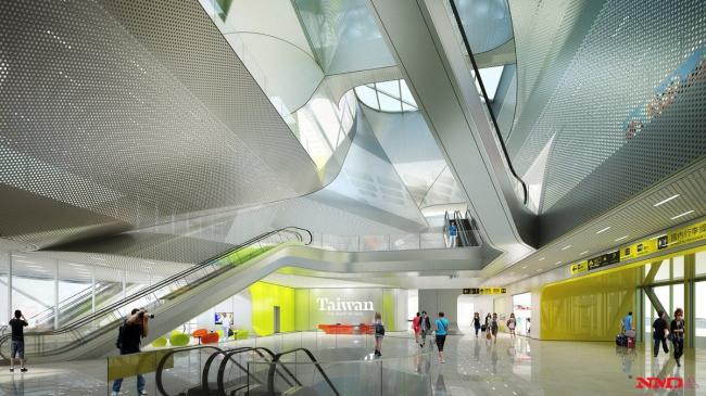 Терминал и административно-офисный комплекс порта Цзилуна © NMDA