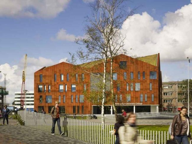 Амстердамский университетский колледж. Фотография © Christian Richters