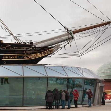 «Катти Сарк» – проект музеефикации. Фото с сайта bdonline.co.uk