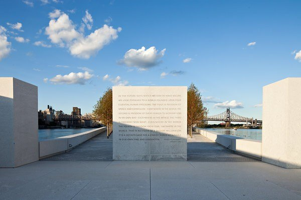 Парк Четырех Свобод Франклина Д. Рузвельта. Фото Robert Wright for The NYT
