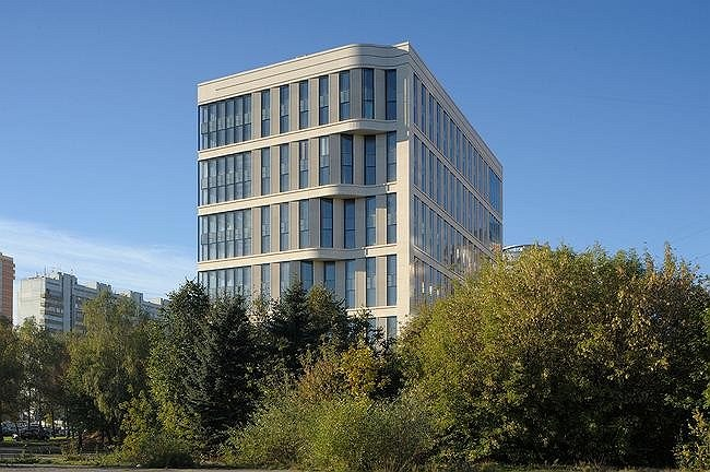 Офисный центр на Ленинском проспекте. Фото Юрия Пальмина