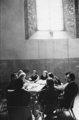 Встреча «Команды 10» в Сполето в 1976 году
