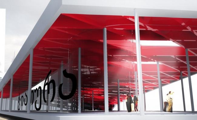 Центр госуслуг © de Architekten Cie. + HL Architecture