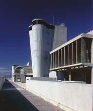 Общий вид Единого жилого комплекса в Марселе. 1946-1952 гг.