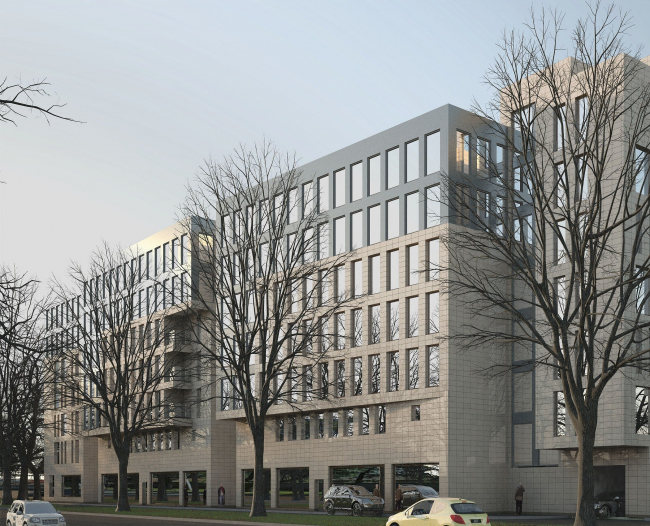Бронзовый диплом. Проект жилого комплекса на улице Савушкина. «Архитектурно-проектная мастерская Ухова В.О.»