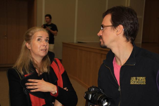 Анна Броновицкая и Николай Малинин. Фотография Ю. Тарабариной