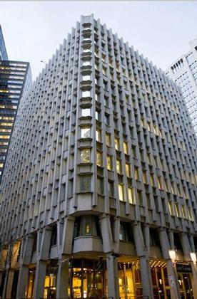 Пол Рудольф. Здание «Blue Cross Building». Бостон. 1958-1960