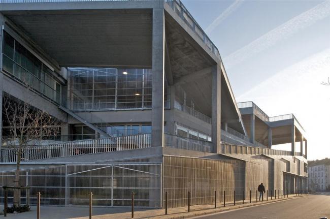 Школа архитектуры Нанта © Philippe Ruault