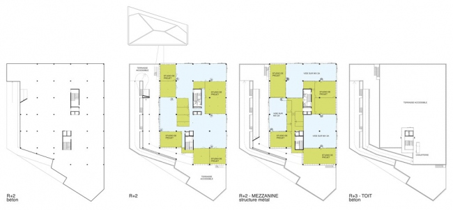 Школа архитектуры Нанта © Lacaton & Vassal