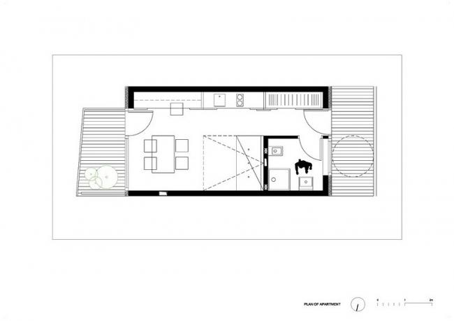 Студенческое общежитие Basket Apartments @ OFIS Arhitekti
