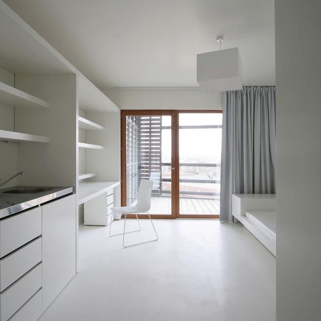 Студенческое общежитие Basket Apartments @ Tomaz Gregoric