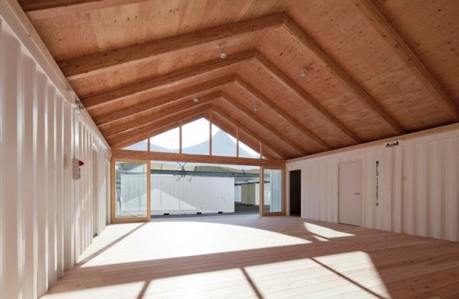 Многоэтажные временные дома © Hiroyuki Hirai