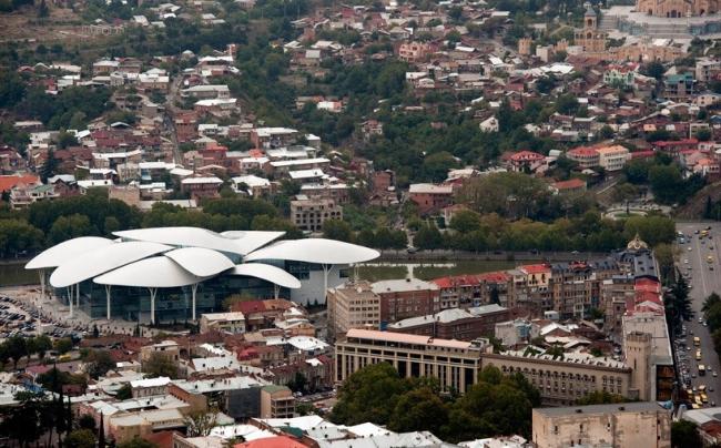 Центр госуслуг в Тбилиси © Studio Fuksas