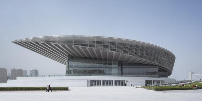 Большой театр в Тяньцзине. Фото © Christian Gahl. Предоставлено gmp