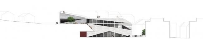 Культурный центр Plassen © 3XN