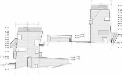Центр Кнута Гамсуна. Фасады